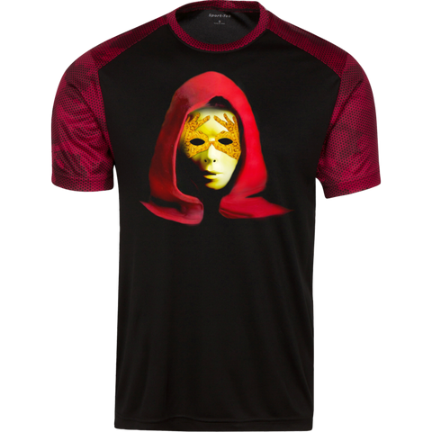 Red Cloak Men Sport-Tek CamoHex T-Shirt