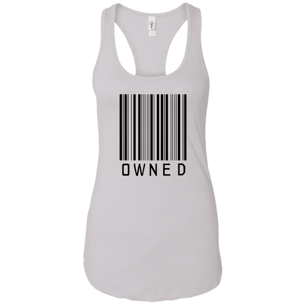 Owned Women Racerback Tank Top
