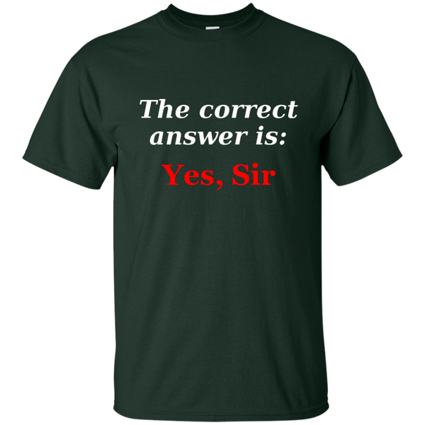 BDSM Dom Master Correct answer Premium Gildan Men T-Shirt