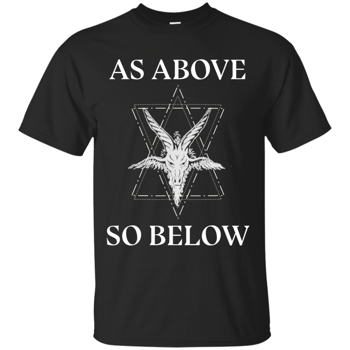 As above so below Men Premium Gildan T-Shirt