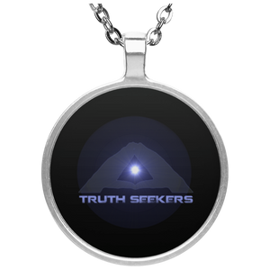 Truth seekers  Circle Necklace