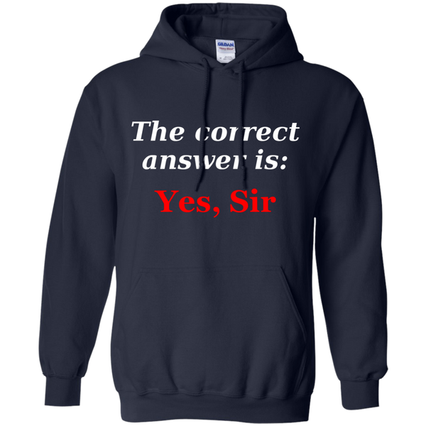 BDSM Dom Master Correct answer Men Pullover Hoodie