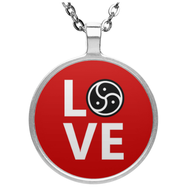 BDSM Triskele Love Circle Necklace