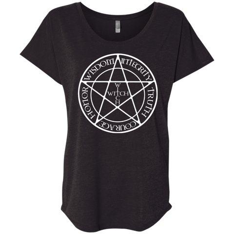 WITCH  Women Triblend T-Shirt