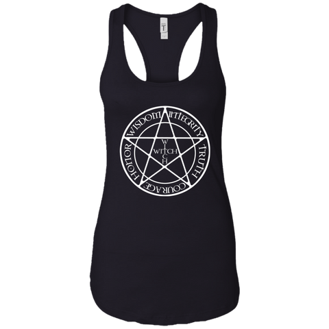 WITCH  Women Racerback Tank Top