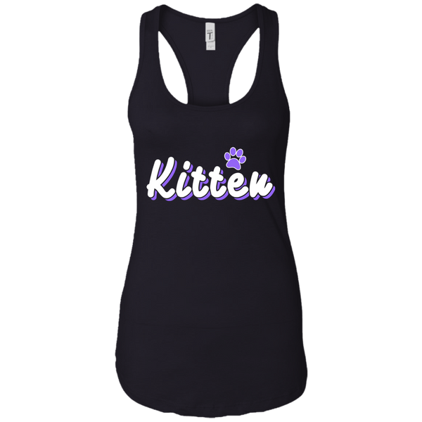 Kitten Women Racerback Tank Top