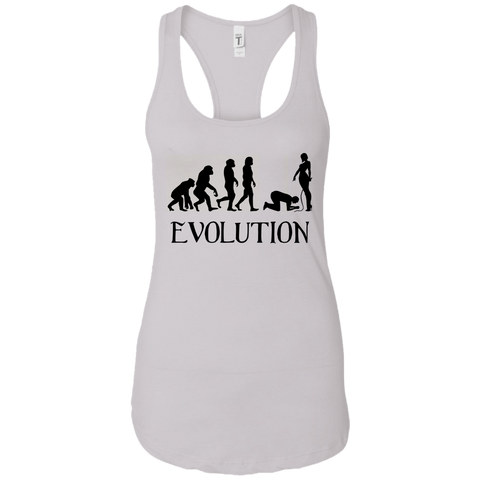 Femdom Evolution BDSM Fetish Women Racerback Tank Top