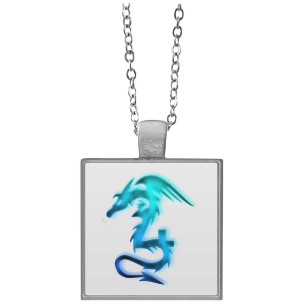 Dragon  Square Necklace