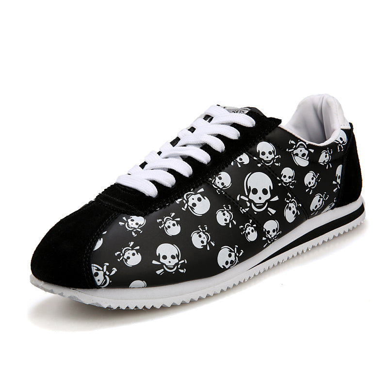 Skull Heads Flat Shoes