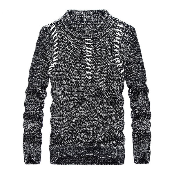 Trendy Streetwear Knit Pullover Men Sweater