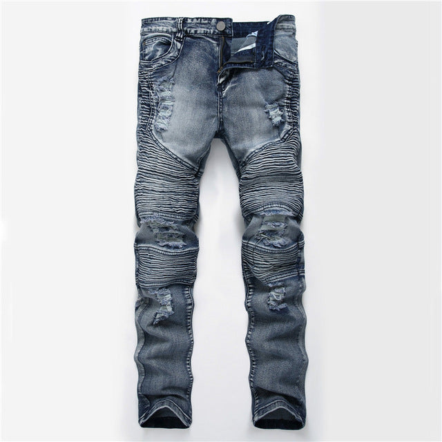 Premium Ripped Denim Jeans Size up to 42