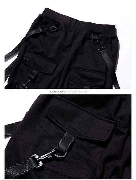 Black Men's Pant Pockets