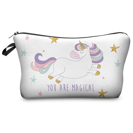 """You are Magical"" Unicorn Cosmetic Bag"