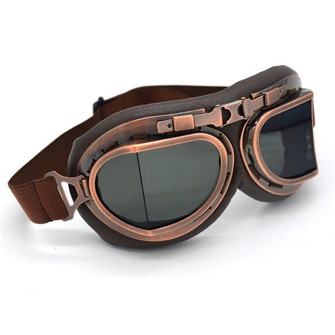 New Steampunk Aviator Glasses