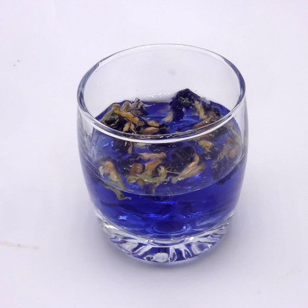 Butterfly Pea Flowers for tea - 50ml container