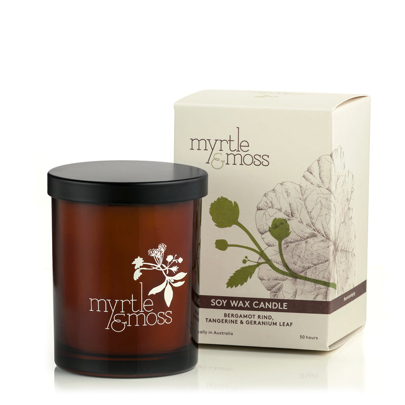 SOY WAX CANDLES - Myrtle & Moss