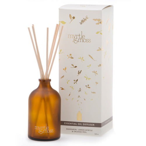 ESSENTIAL OIL DIFFUSER 125mL - Myrtle & Moss