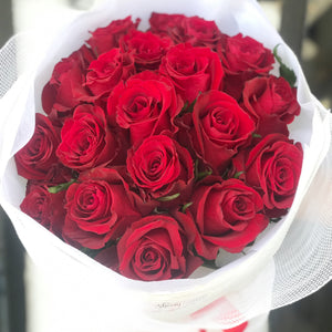 True Love - Premium Long Stem Red Roses Only