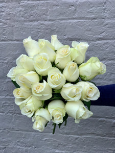 White premium Rose Bouquet