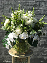 Fresh Classic White & Green  bouquet $ 35-$180