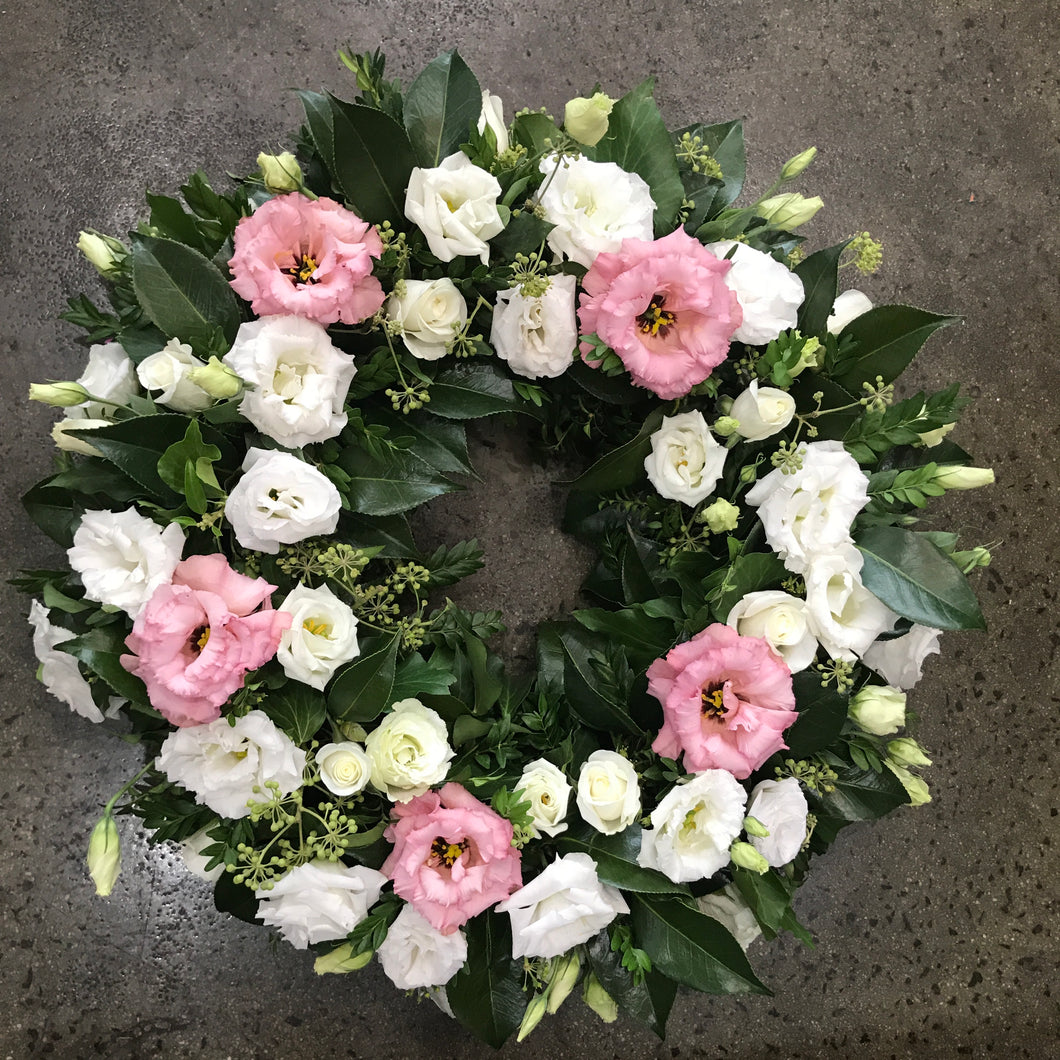 Spring Floral Wreath