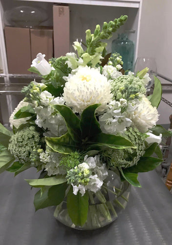 White & Green Posy $ 35-$180