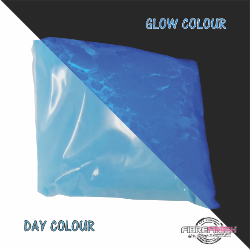 Glow In The Dark Powder (Blue - Blue)