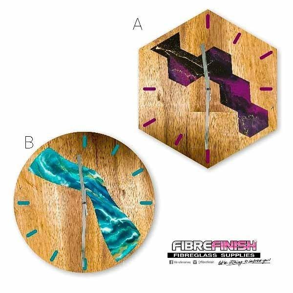 TIMBER RESIN CLOCK WORKSHOP - Sat 15th May @ 12.30pm