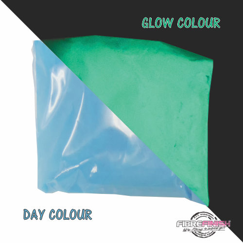 Glow In The Dark Powder (Blue - Aqua)