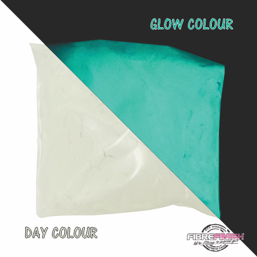 Glow In The Dark Powder (White - Aqua)