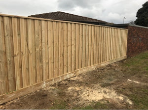 1950 High Fence with 5*3 Posts (2700 Posts$1800 Palings)