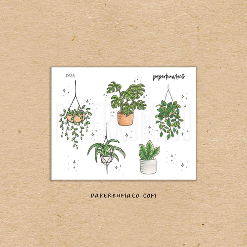House Plants Stickers