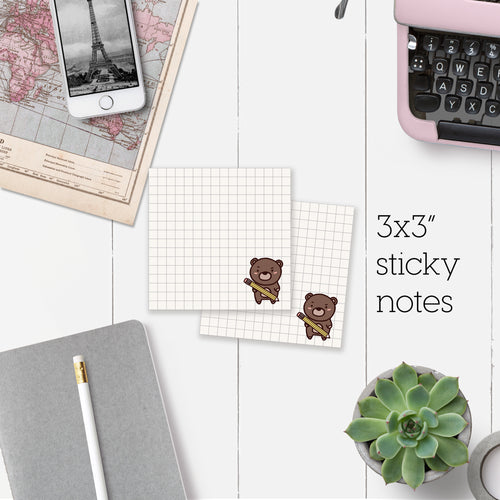 Coco Grid Sticky Note *LAST STOCK*