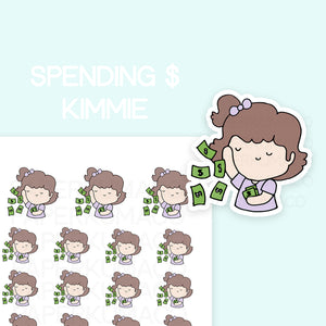 Money Spending Kimmie - C024