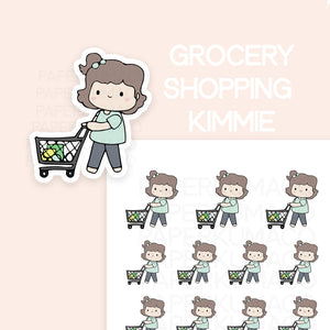 Grocery Shopping Kimmie - C026
