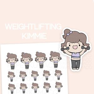 Weightlifting Kimmie - C027