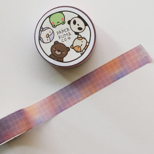 Pastel Dreams Grid Washi