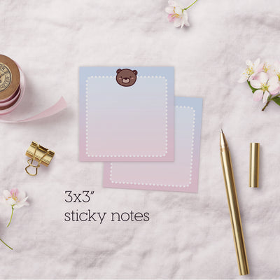 Coco Ombre Sticky Note