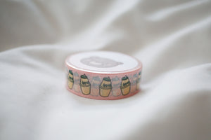 Pink Banana Milk Washi