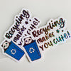 Recycling Makes You Cute Sticker Flake