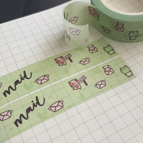 Snail Mail Washi Tape
