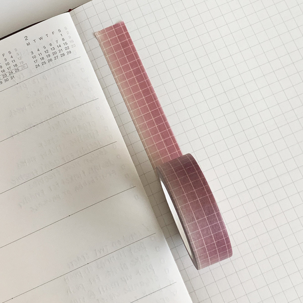 Midsummer Ombre Grid Washi Tape
