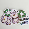 Reduce Waste! Sticker Flake
