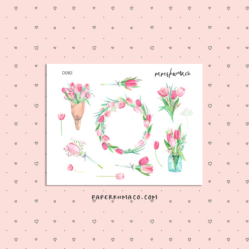 Tulip Floral Stickers
