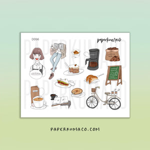 Coffee Girl Stickers