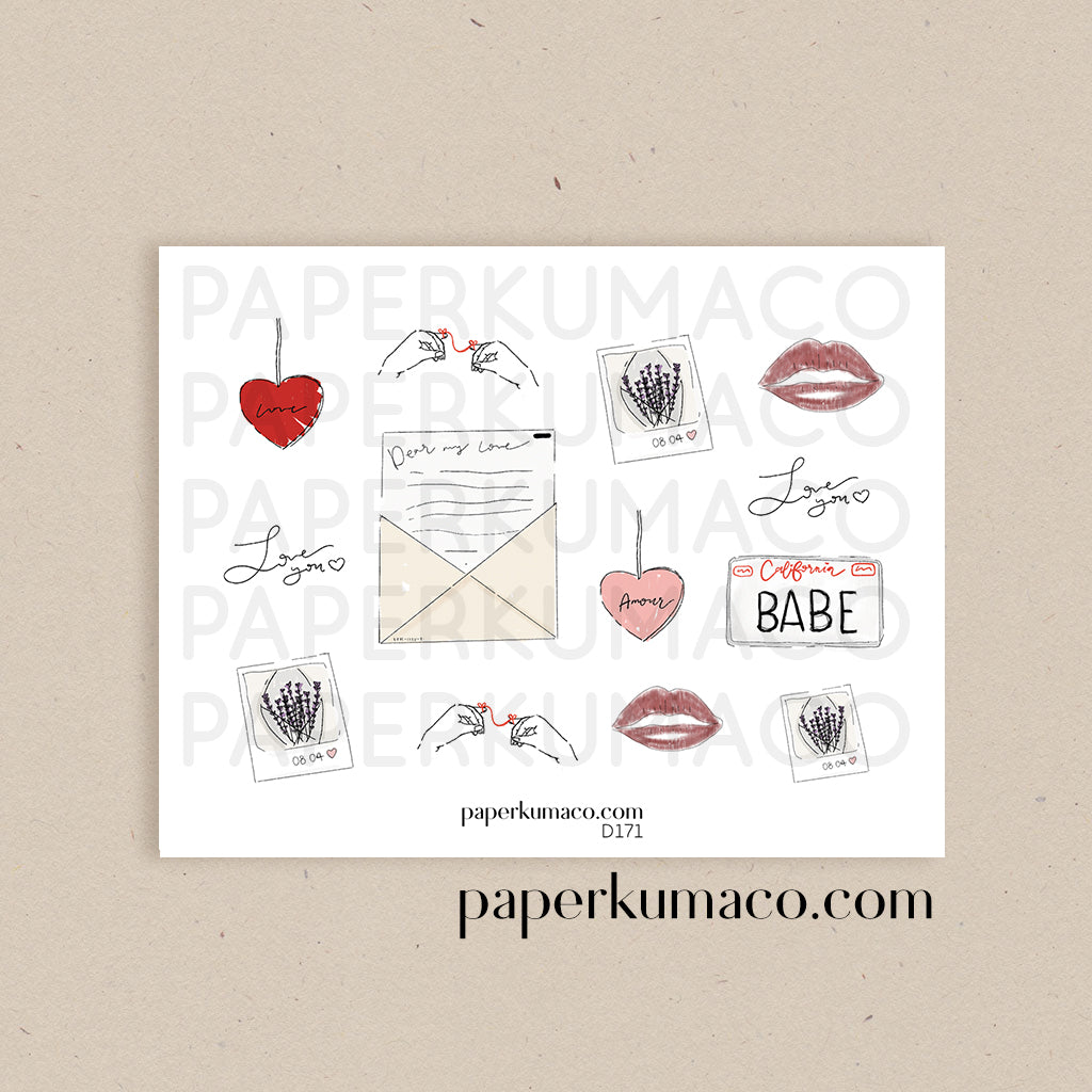 Love Memories Stickers