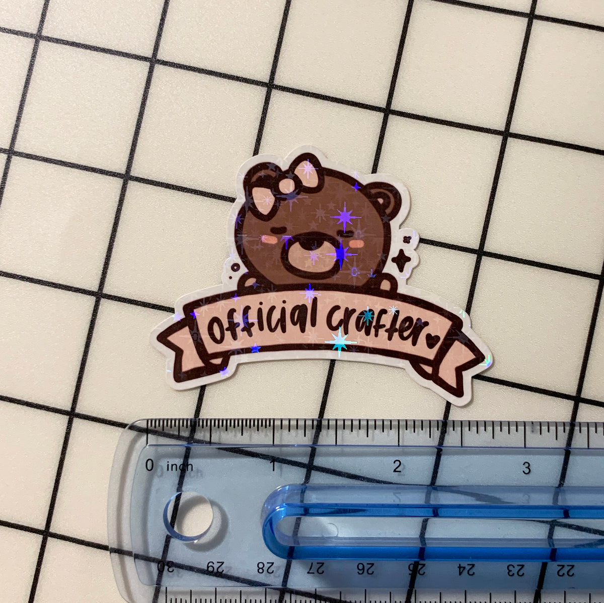Official Crafter Sticker Flake