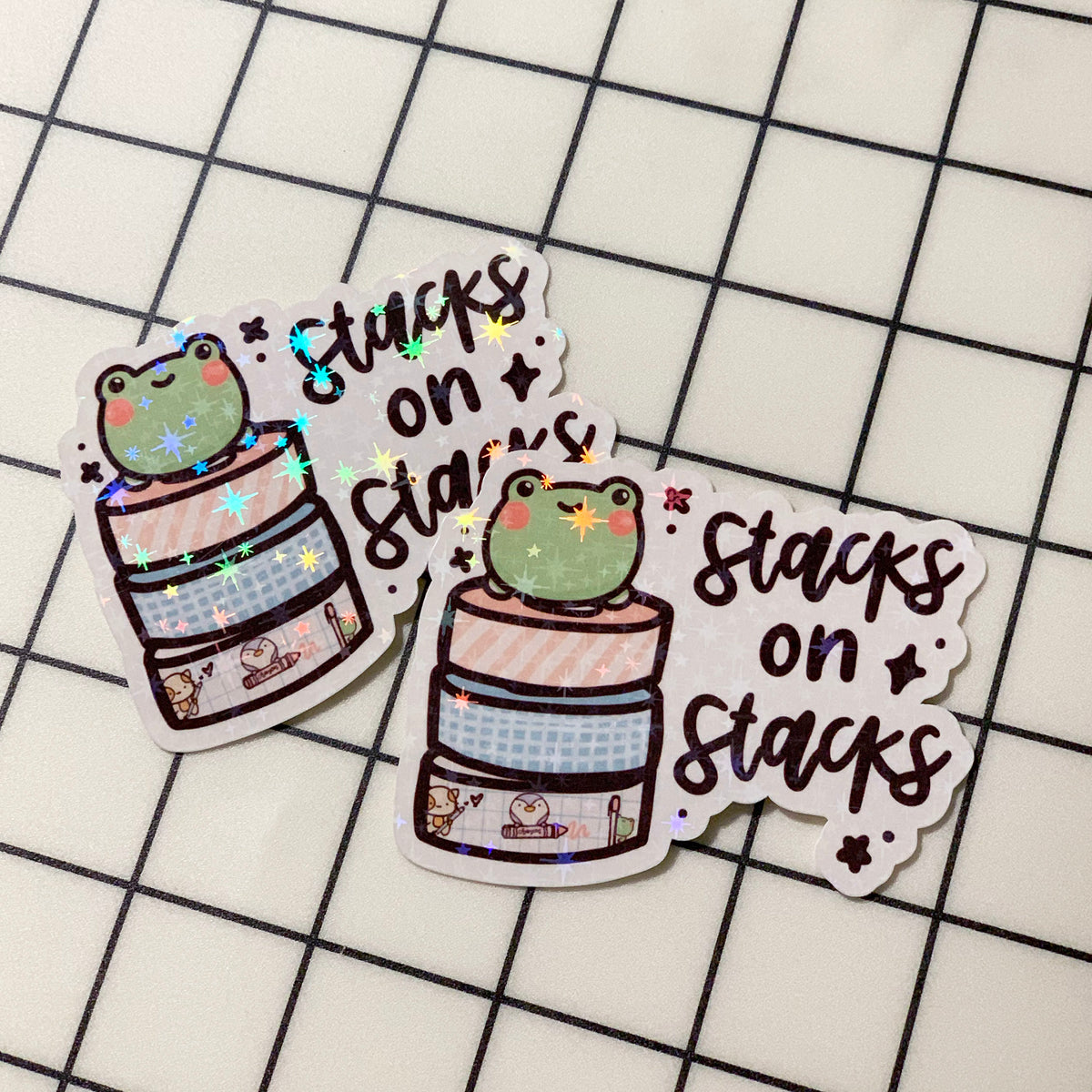Stacks on Stacks Sticker Flake