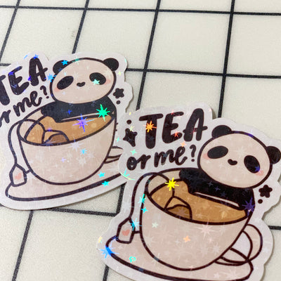 Tea or Me? Sticker Flake