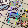 Take a Break Sticker Flake